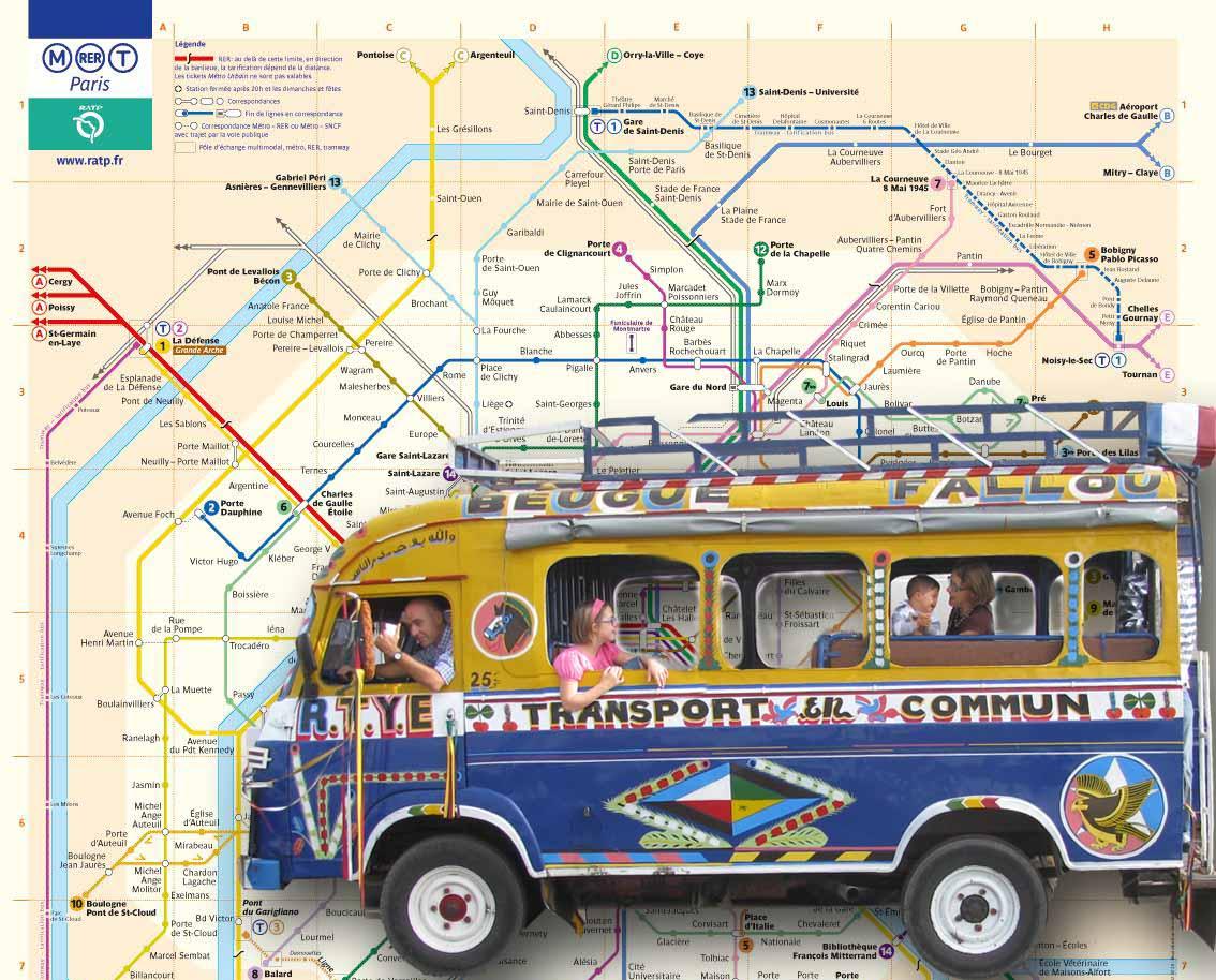 Jag ndiaye ou bus RATP ?